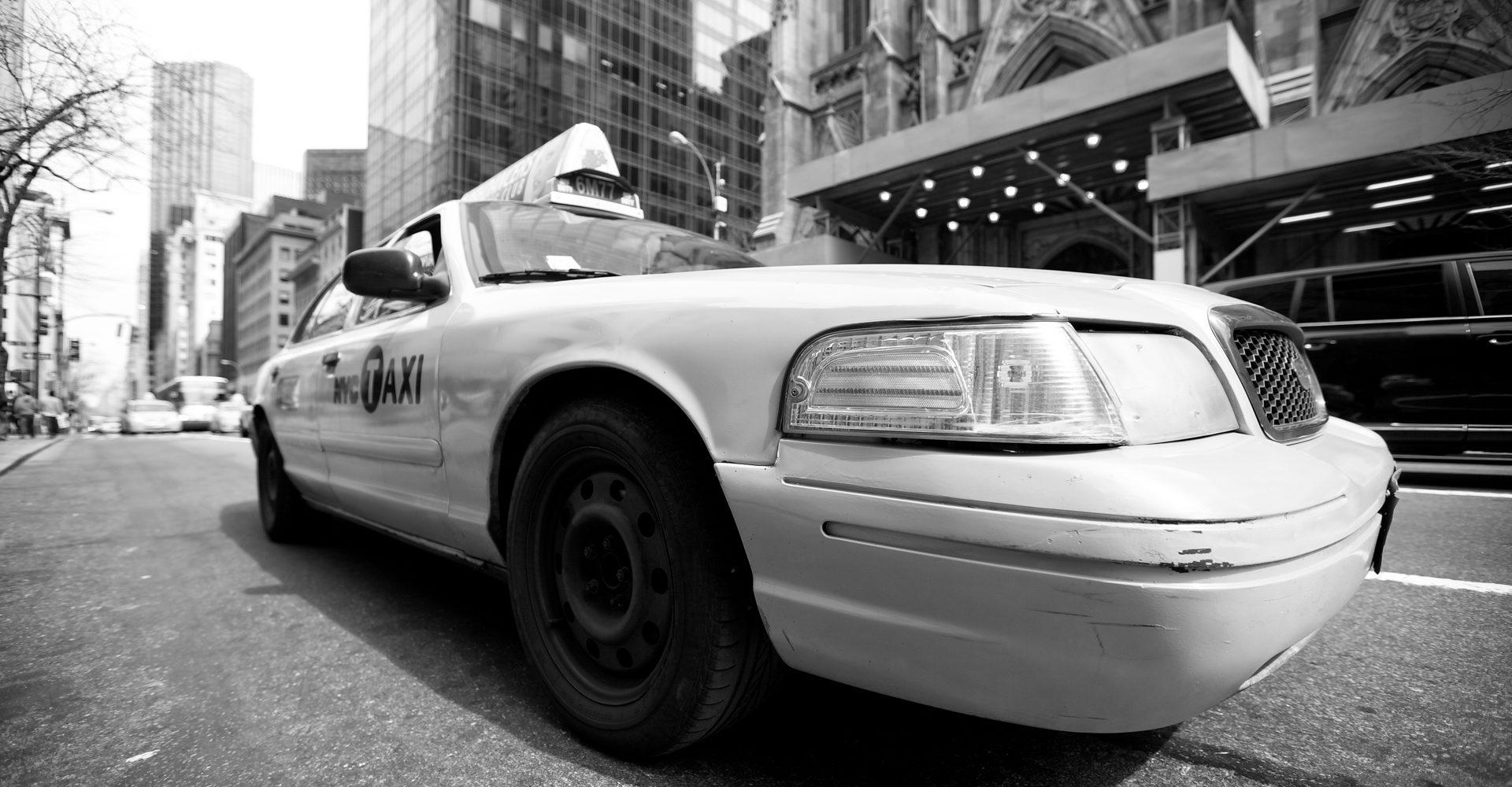 Almudena Plaza-New York-taxi