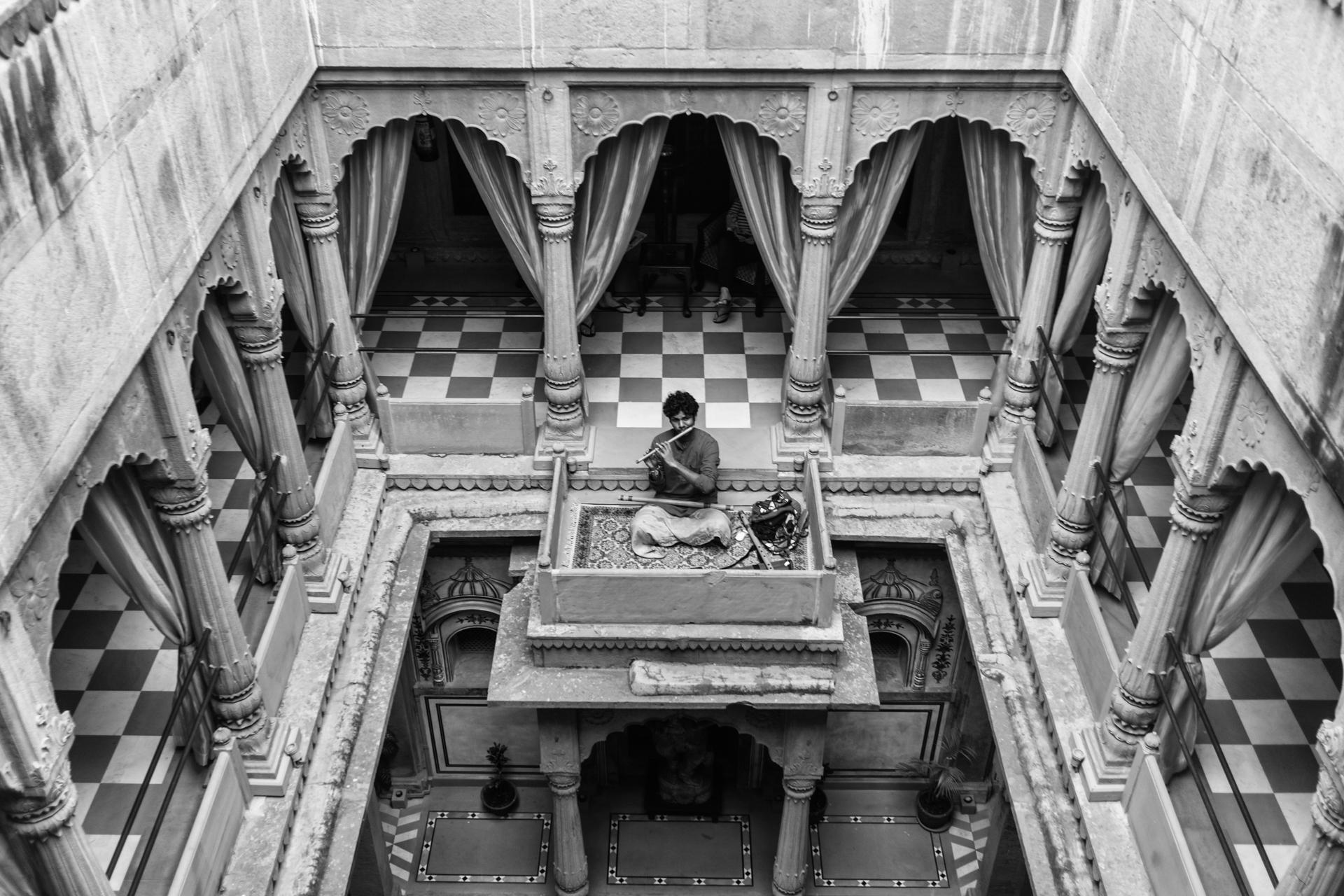 India-palace-flaute